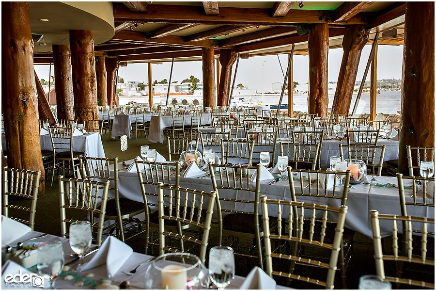 Bali Hai Wedding Reception Room Photo San Diego Reception Locations