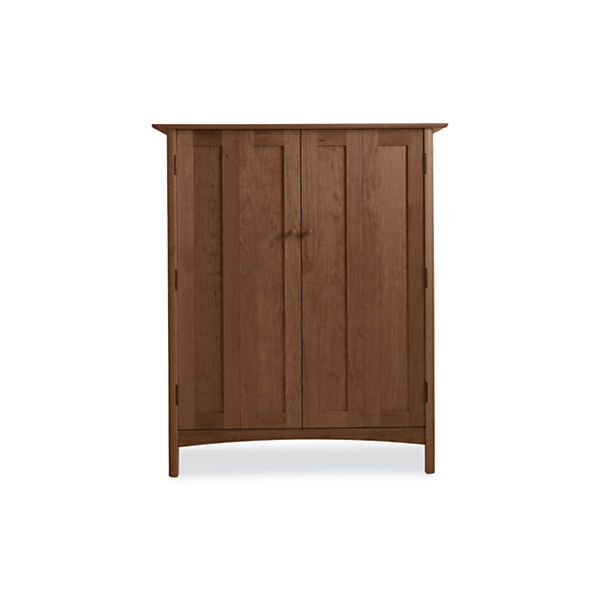 Vermont Heartwood Modern Office Armoire   Modern Office Storage   Modern  Office Furniture   Room