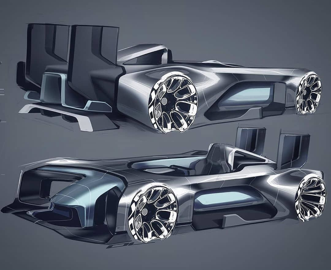 The Chassis Glass Tub Actually Made It To Production What Do You Think Comments Below Please From Johno Car Design Futuristic Cars Concept Supercar Design