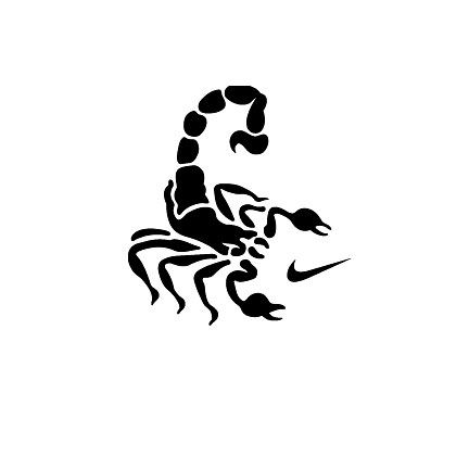 77adde39382abe Nike Scorpion logo