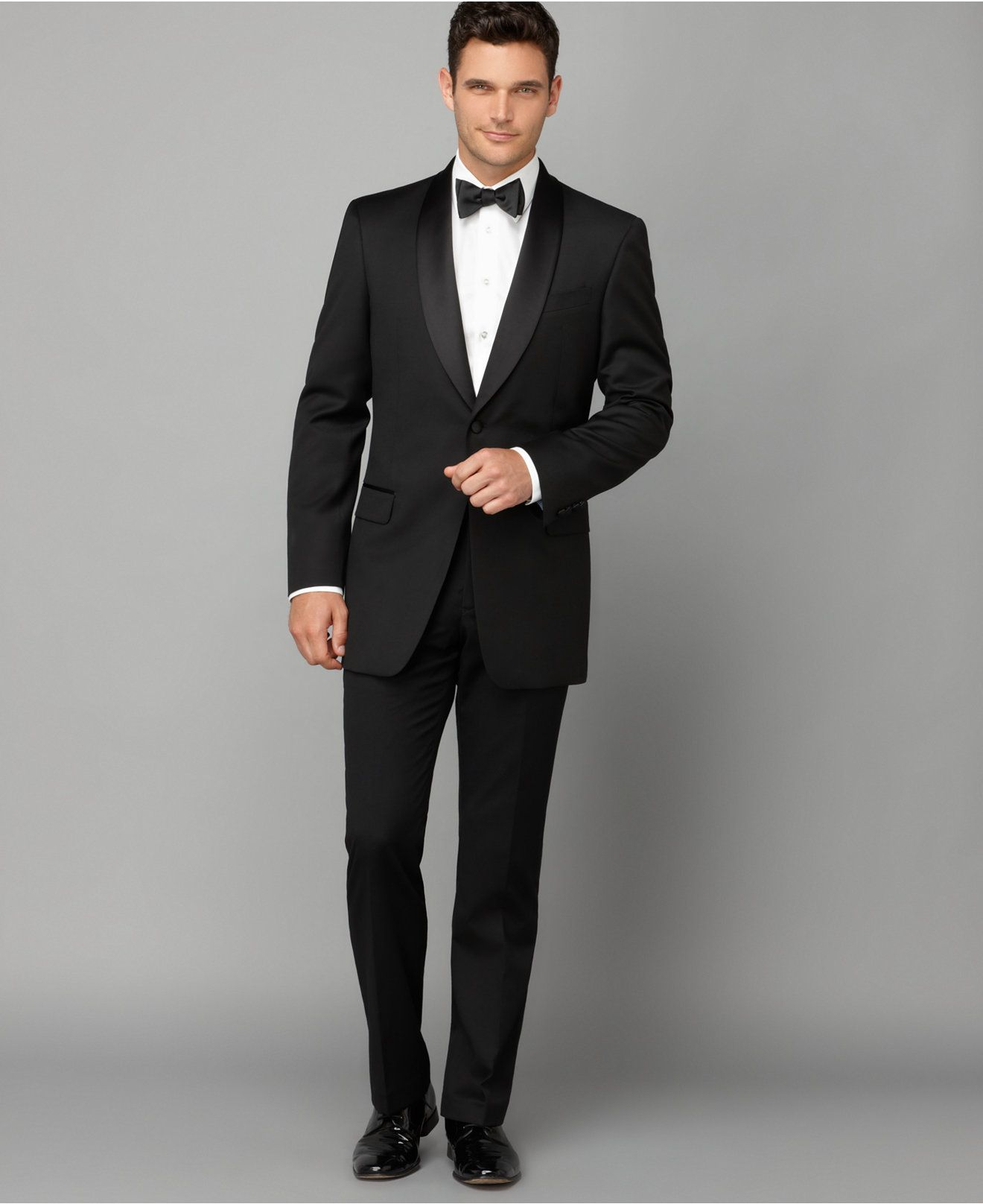 Tommy Hilfiger Tuxedo Shawl Collar Classic-Fit Suit Separates - Shop All  Suit Separates - Macy's