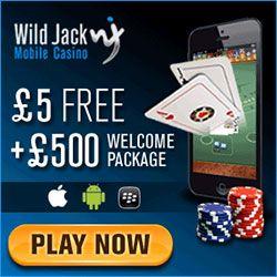 Wildjack mobile casino dollar slot machines