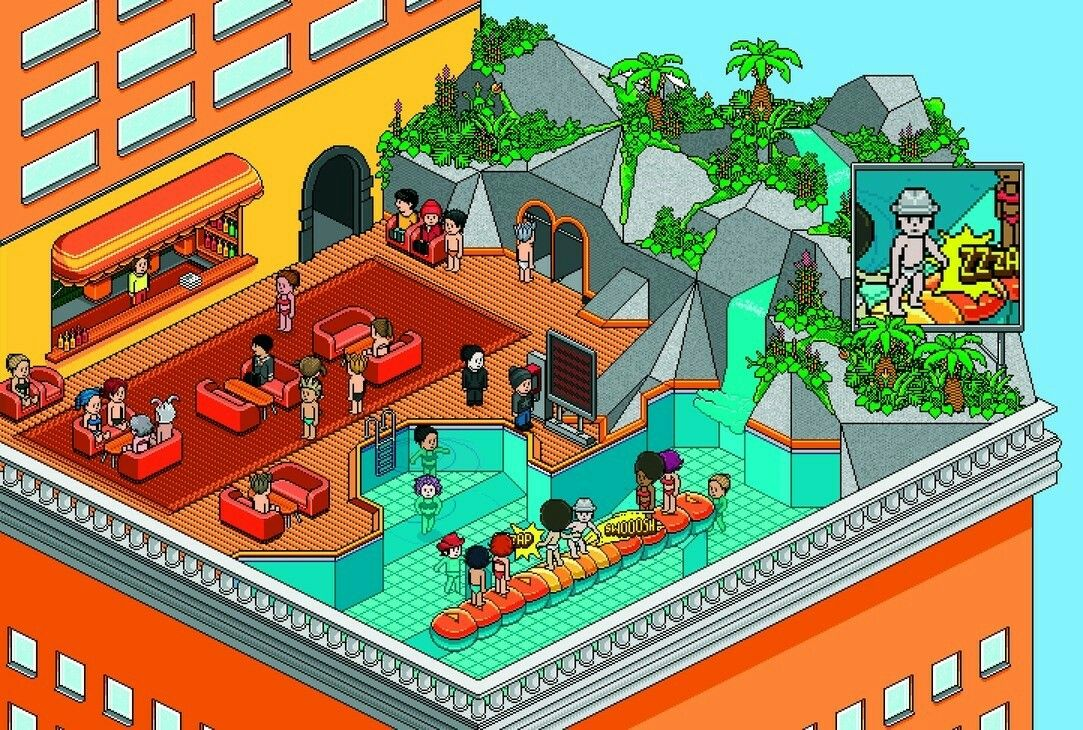 Pin by Emily on ♡ HABBO ♡ Imvu, Virtual reality games