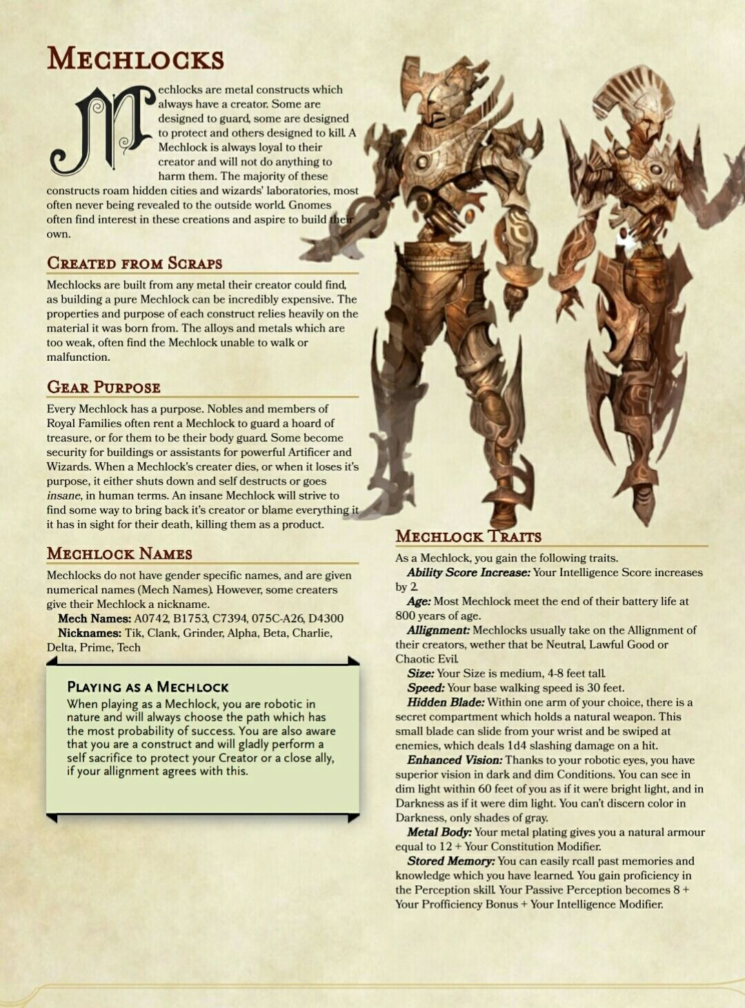 Dnd 5e Homebrew Homebrew 4 You So I Have Been Working On This