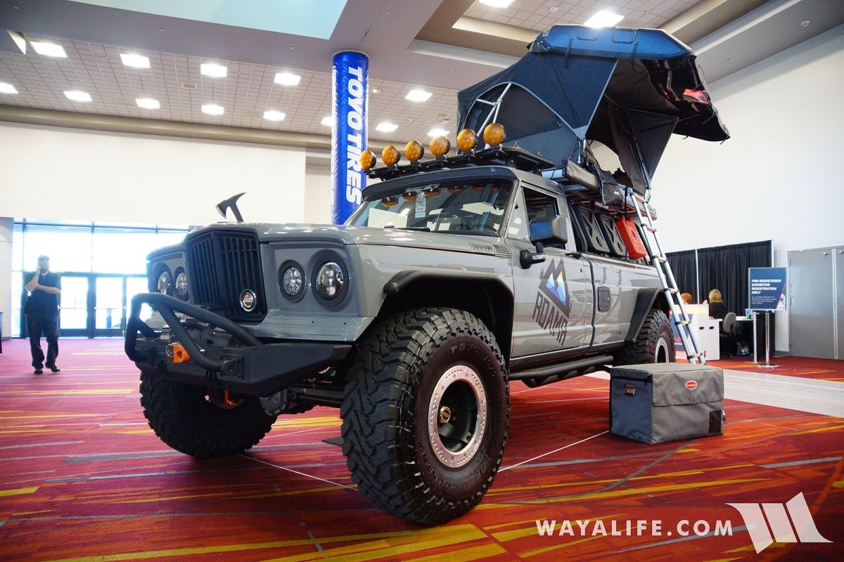 2017 Sema Roamr Jeep Gladiator Tomahawk Jeep Gladiator Jeep