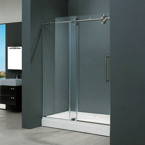 Vigo Vg6041stcl4874 48 1224 60 48 Frameless Shower Doors Shower Doors Sliding Shower Door