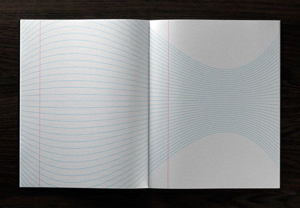 Inspiration pad - different line patterns on each page!
