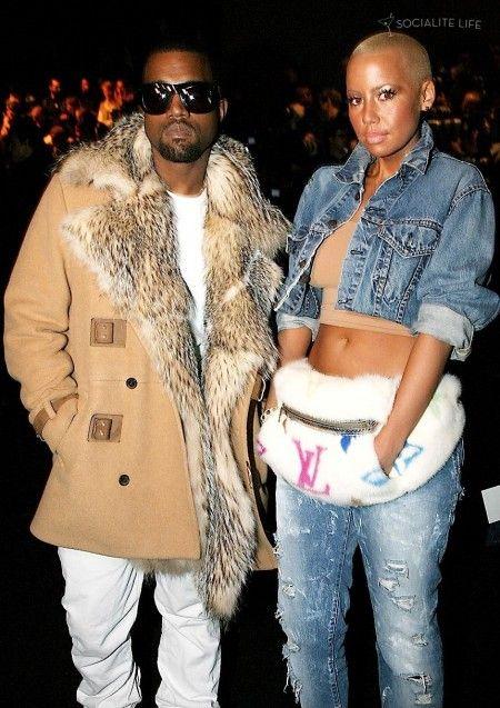Kanye West Amber Ro Couple Outfits Fashion Fashion Couple