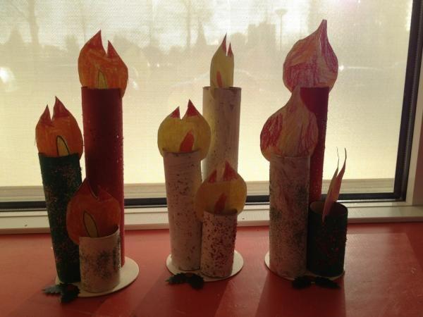 3 kaarsen bij elkaar