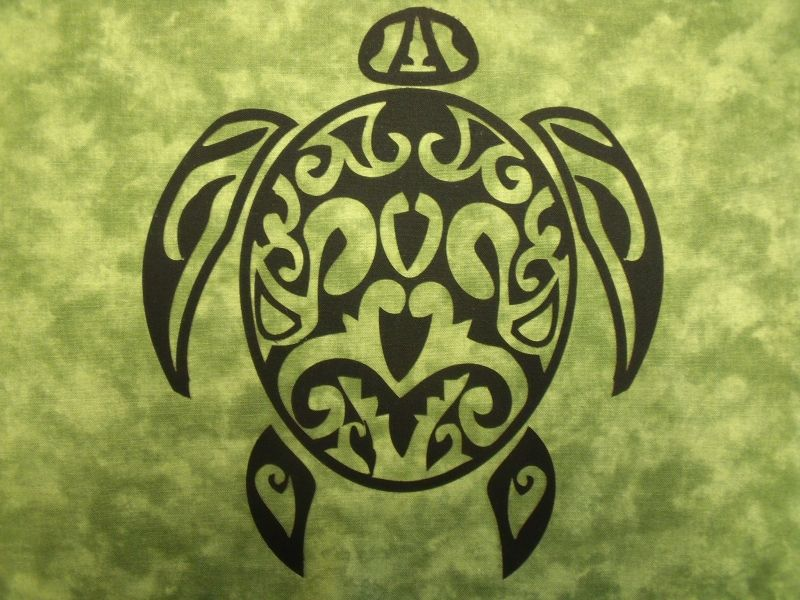 Turtle Symbol Native American Silhouettes 16 Laser Cut