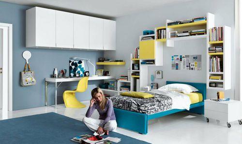 Gab Blau Gelb Ideen Kinderzimmer Mädchen Und Jungs