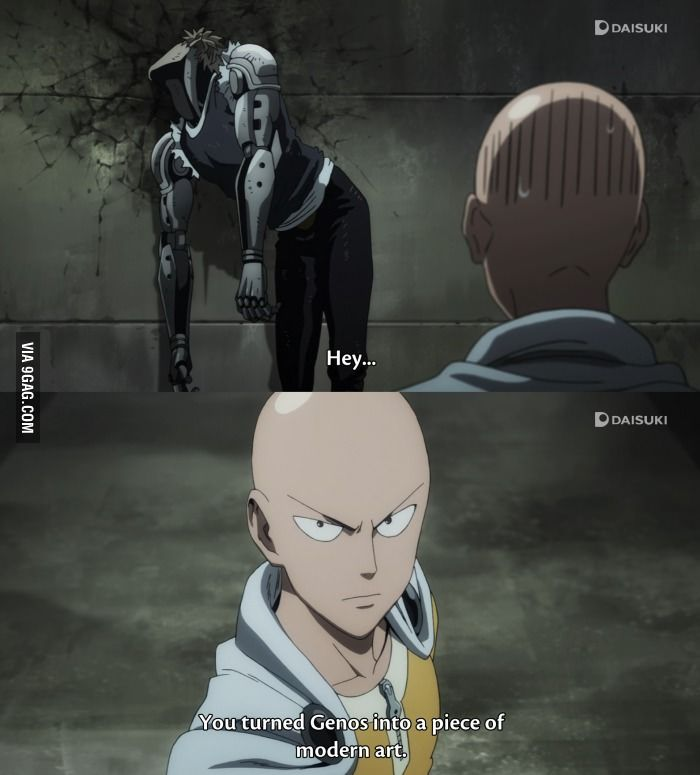 Even Saitama knows what's up! | One punch man funny, One ...