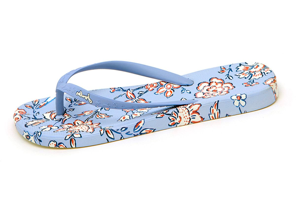 Joules Floral Printed Flip Flop Sandals XBvyMIQII