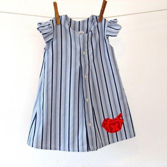 Herrenhemd in Ihr Babymädchen Kleid Eco-Mode für von allthenumbers ...