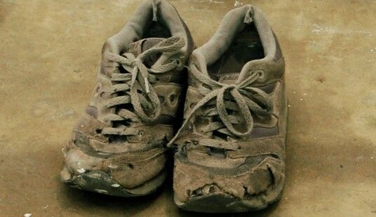 Image result for i once complained i had no shoes