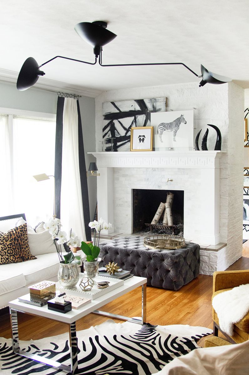 An Interior Stylist\'s Glam Midwest Remodel | Kings lane, Living ...