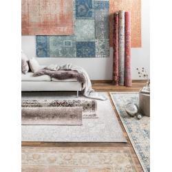 benuta Trends Flachgewebeteppich Frencie Grün 120x180 cm - Vintage Teppich im Used-Lookbenuta.de