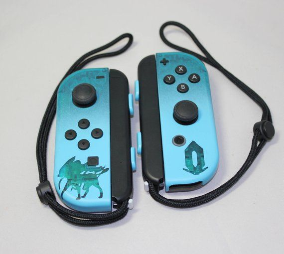Nintendo Switch ~ Pokemon Crystal Legacy ~ Custom Joy-Con