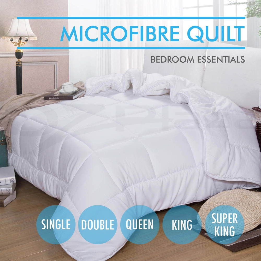 summer microfiber quilt weight microfibre duvet blanket all sizes