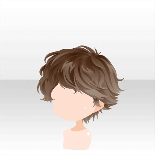 25 Chibi Brown Hair Male Ct Hair Nail Design Ideas