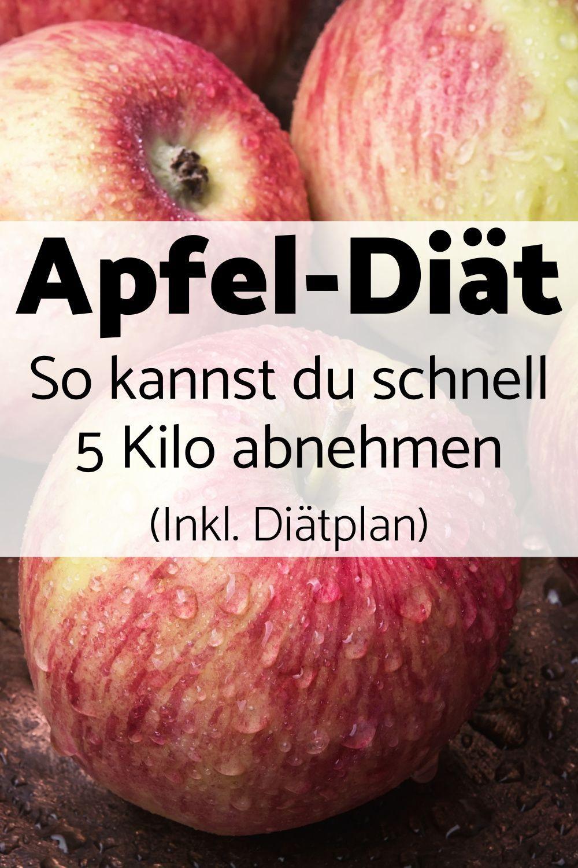Mit der Apfel-Diät kannst du auf einfache Weise schnell abnehmen.