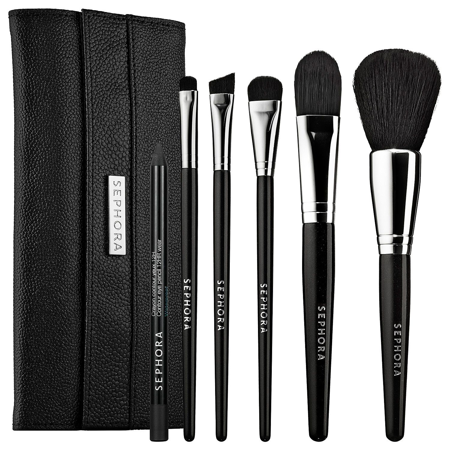 SEPHORA COLLECTION Face the Day Full Face Brush Set 49