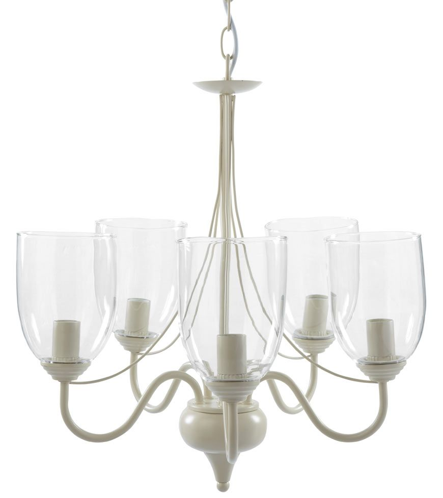Porter 5 arm chandelier glass lantern style cream chandelier porter 5 arm chandelier glass lantern style cream chandelier pendant lighting mozeypictures Images
