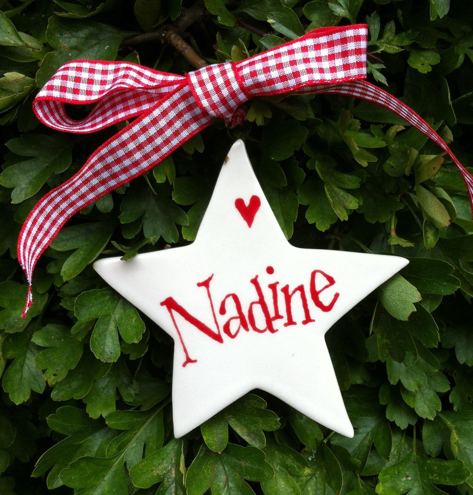 Christmas Star for Nadine by Hannah Berridge Christmas