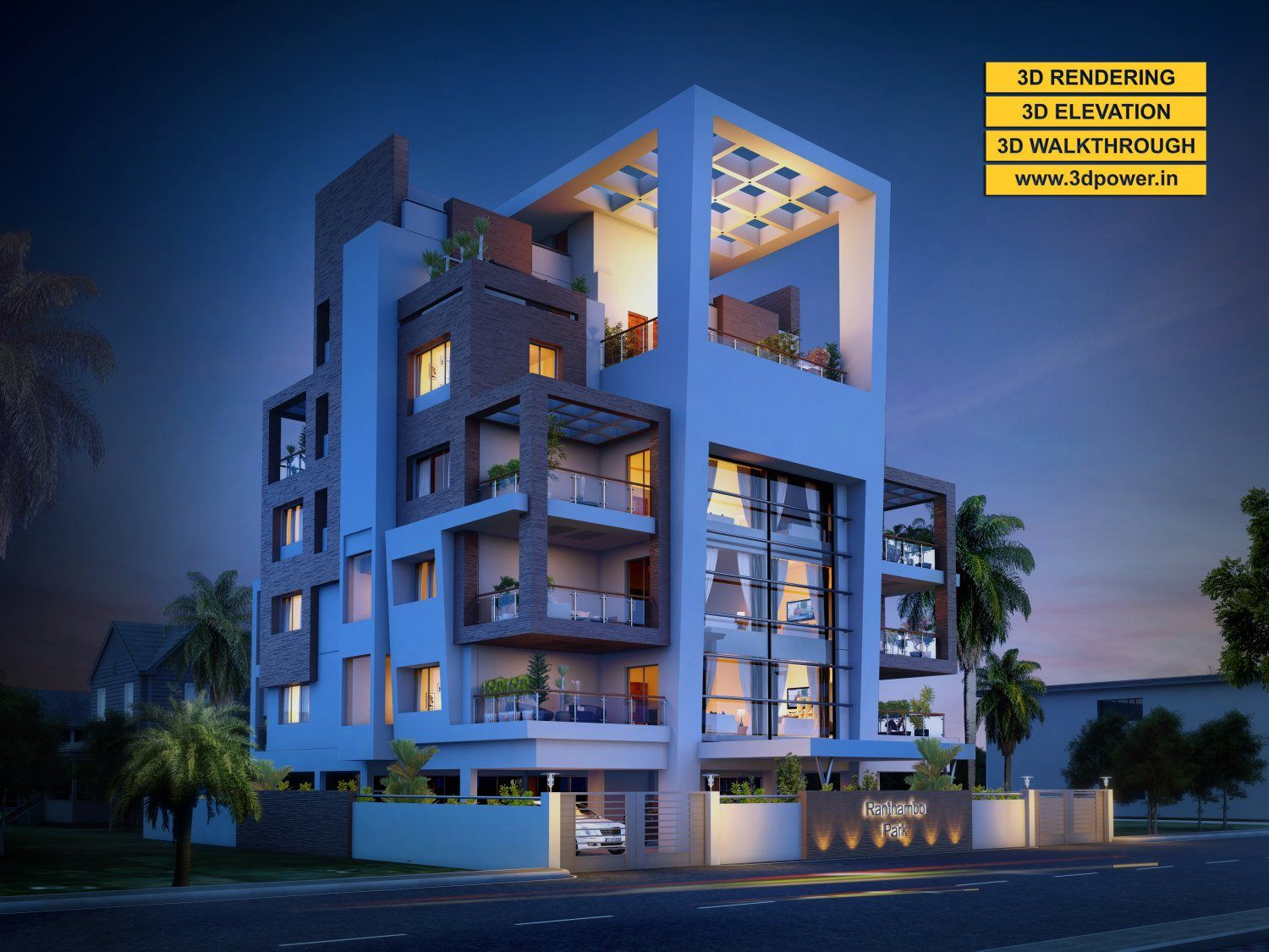 Apartment Elevation Designing A Top Notch Is Our Way Of Exploring And Realizing Creative Idea Into Visual Immersive