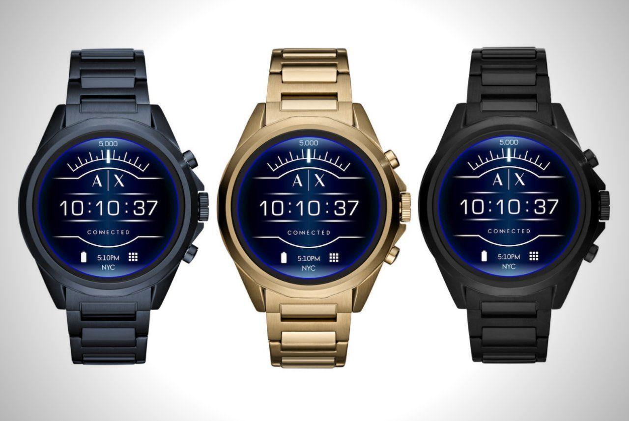 Armani Exchange Connected Smartwatch Men S Gear Smart Watch Smart Watches Men Mens Gear