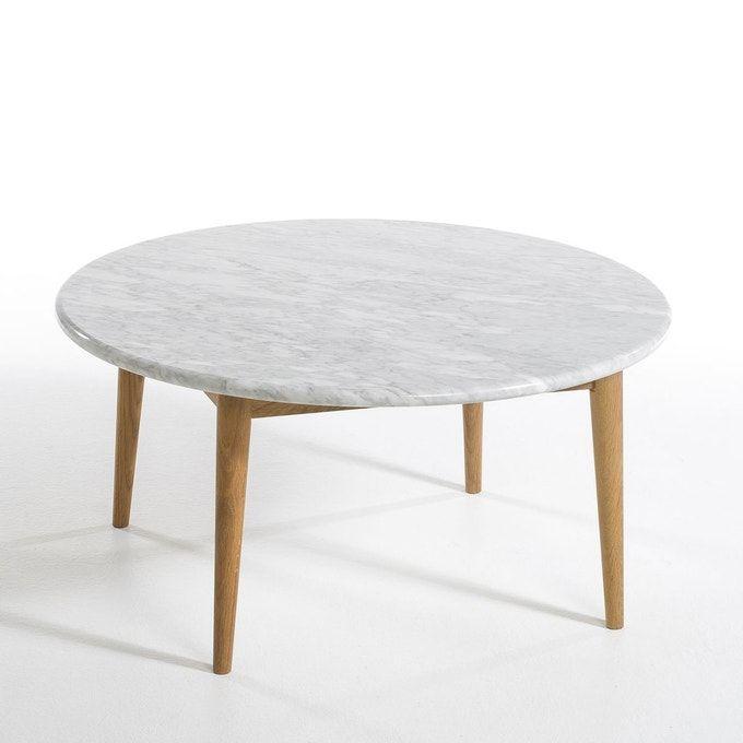 Table Basse Beate Marmora Plateau Marbre Marbre Blanc Am Pm La Redoute En 2020 Table Basse Marbre Table Basse Marbre Blanc Table Basse