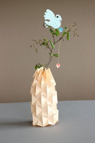 Diy Magic Ball Vase Papercraft Origami And Bottle