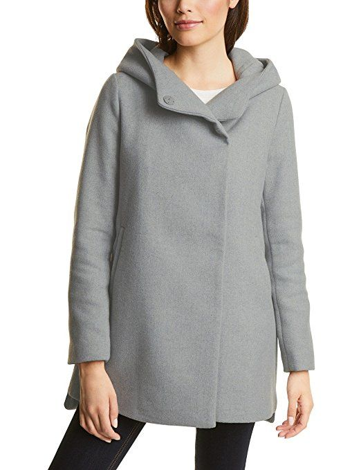 Street One Damen Jacke 200178 Grau (Cosy Grey Melange 10998