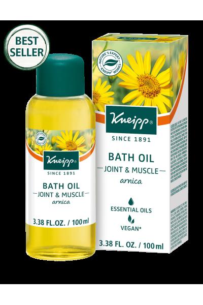 Kneipp Best Seller Bath Oil For Arnica Bath Oils Muscle Relief Oils