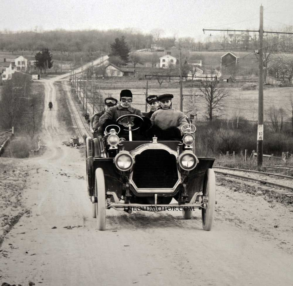 The 1907 Packard Model 30 The Coming Of Age