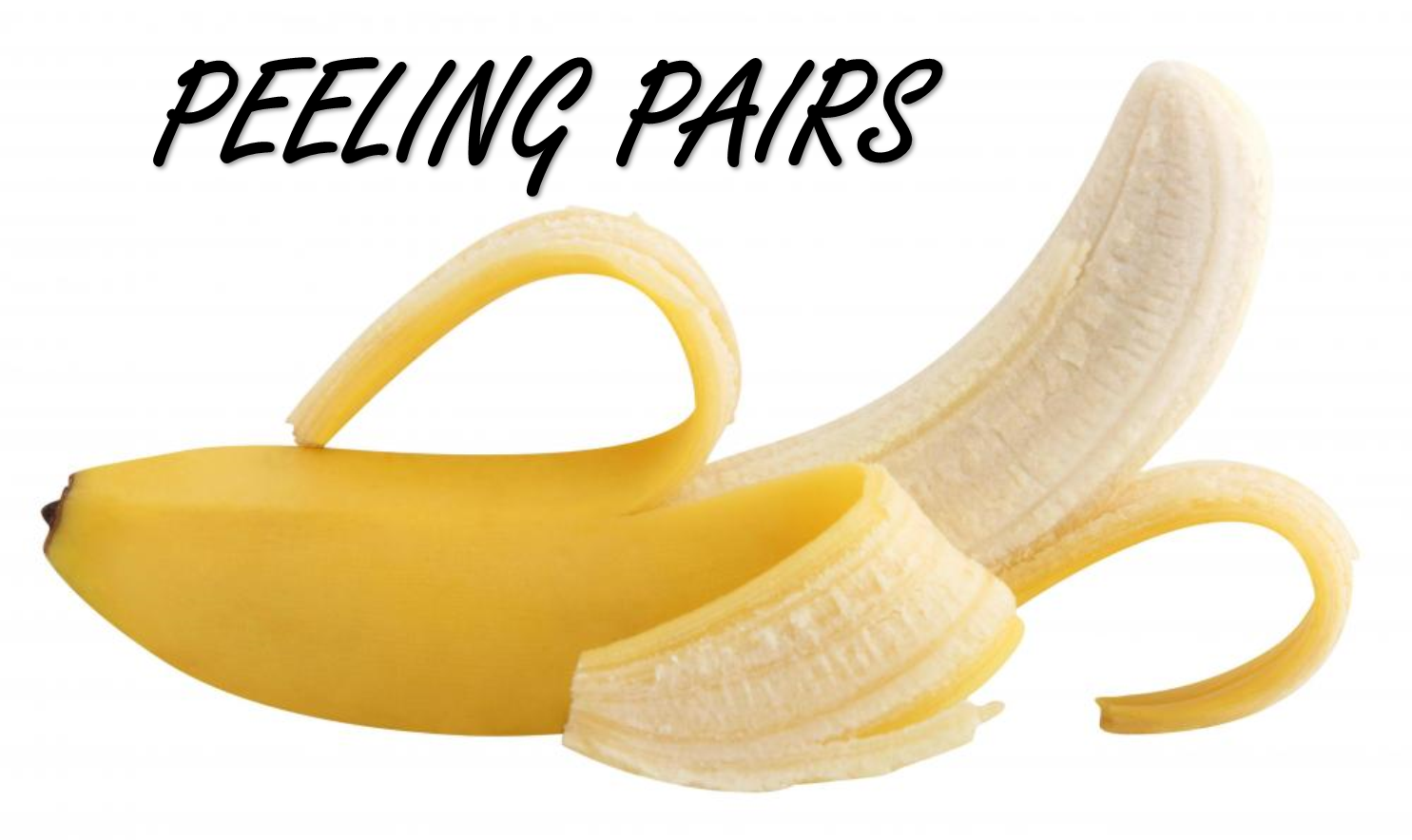 Peeling Pairs Stumingames Unripe Banana Banana Peel Banana
