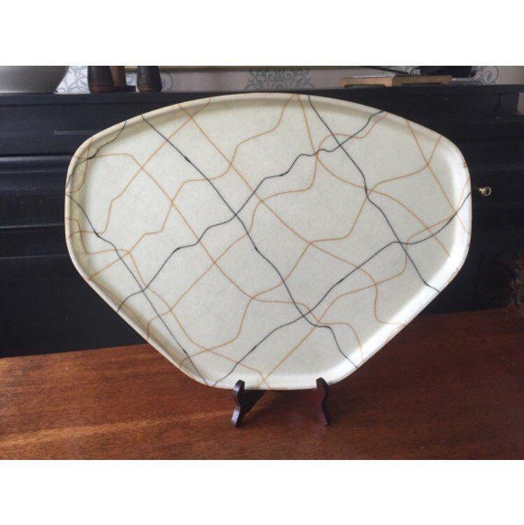 Black Decorative Tray Impressive Trapezoid Fiberglass Brown Black Cream Decorative Tray Camtray Decorating Design