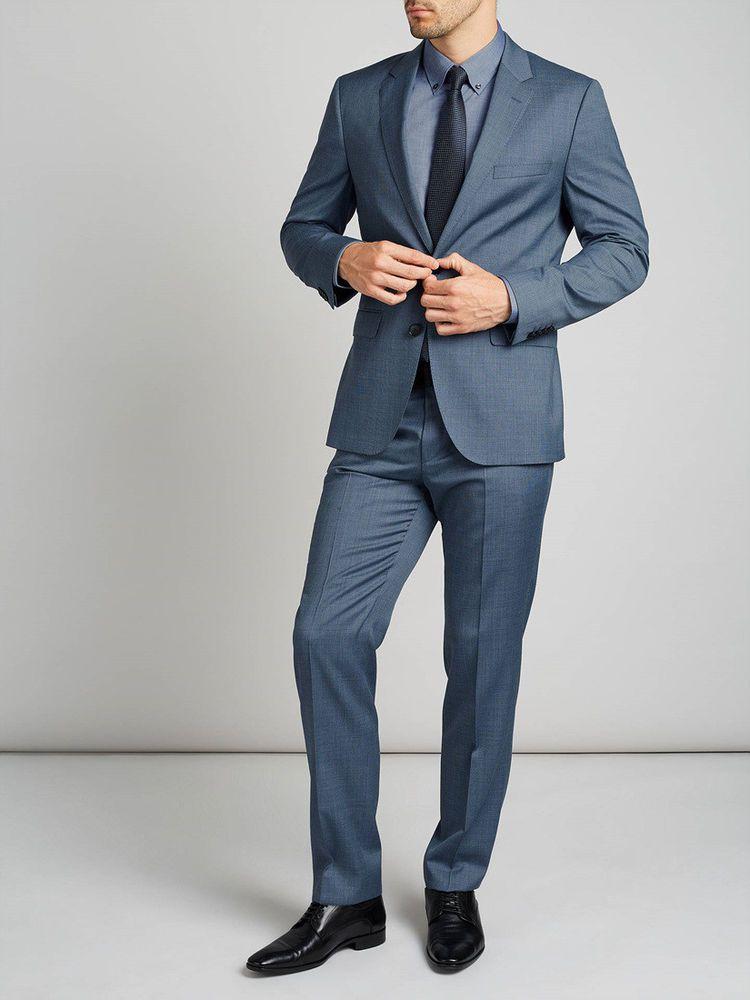 c37e47770 eBay #Sponsored HUGO BOSS NEW Mens 2696 C-Jeffery/C-Simmons Unhem 2PC Suit  40R 35W