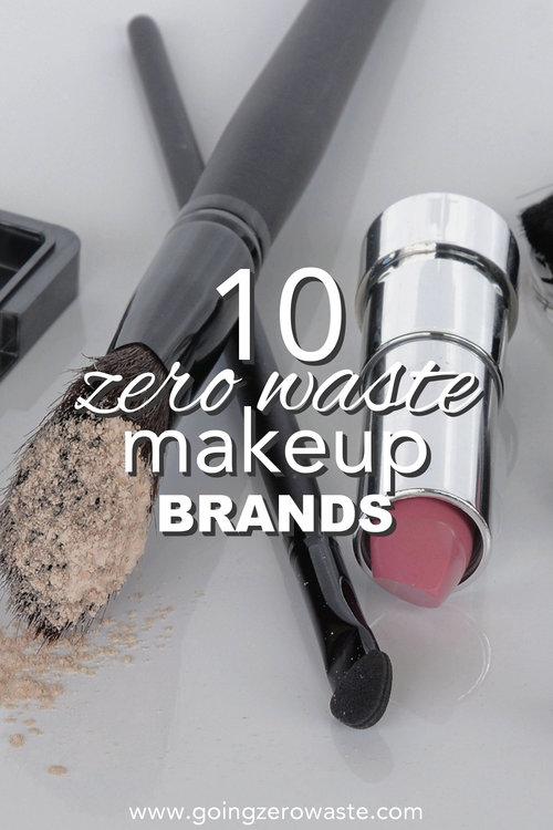 10 Zero Waste Makeup Brands Going Zero Waste Makeup