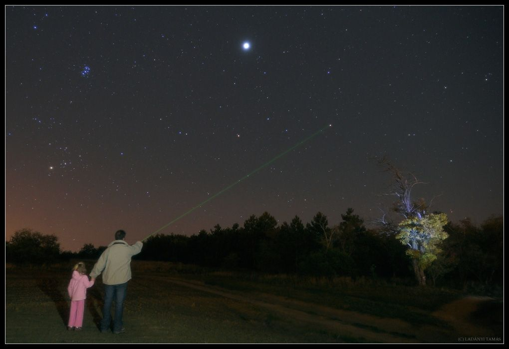 It S Called Mira Mira Mira A Man Shows His Daughter The Star She