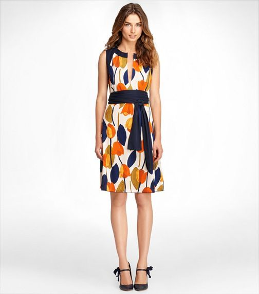 Atley Dress | Womens Sale | ToryBurch.com.  I don't like a lot of her crazy prints, but this one is cute!