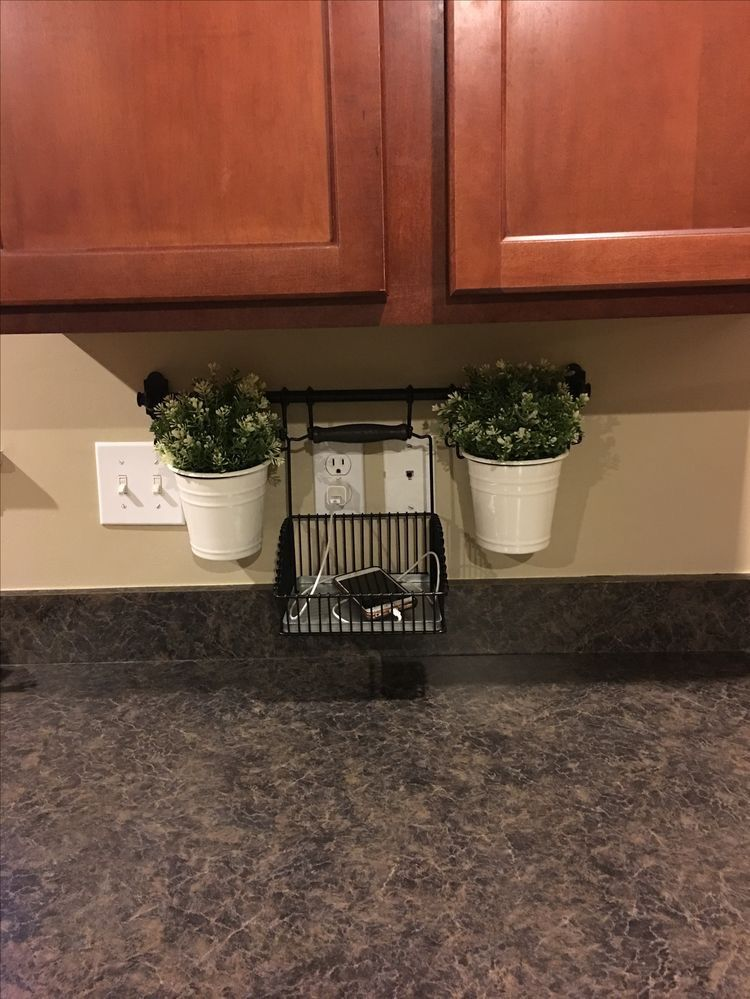 Pin By Rocio D On Decor From My Phone Charging Station Kitchen Home Organization Cheap Home Decor