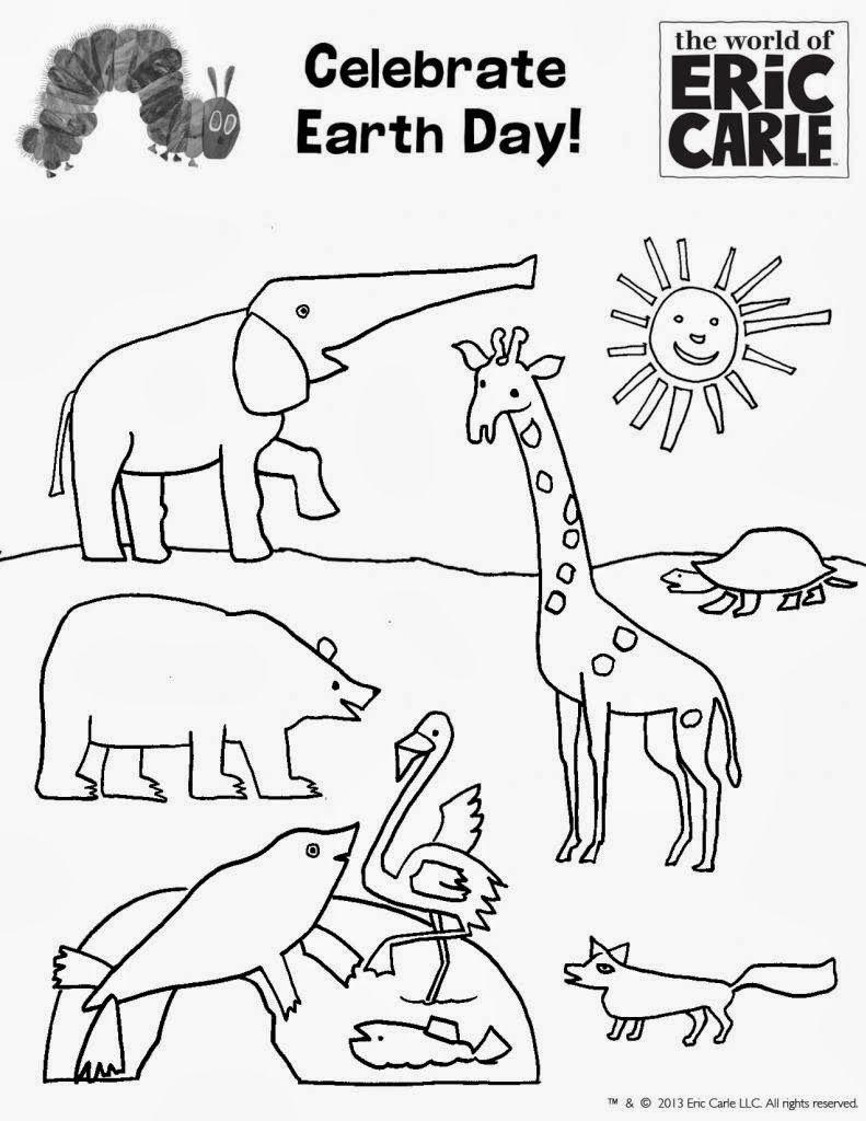 Earth Day Coloring Pages Earth day coloring pages