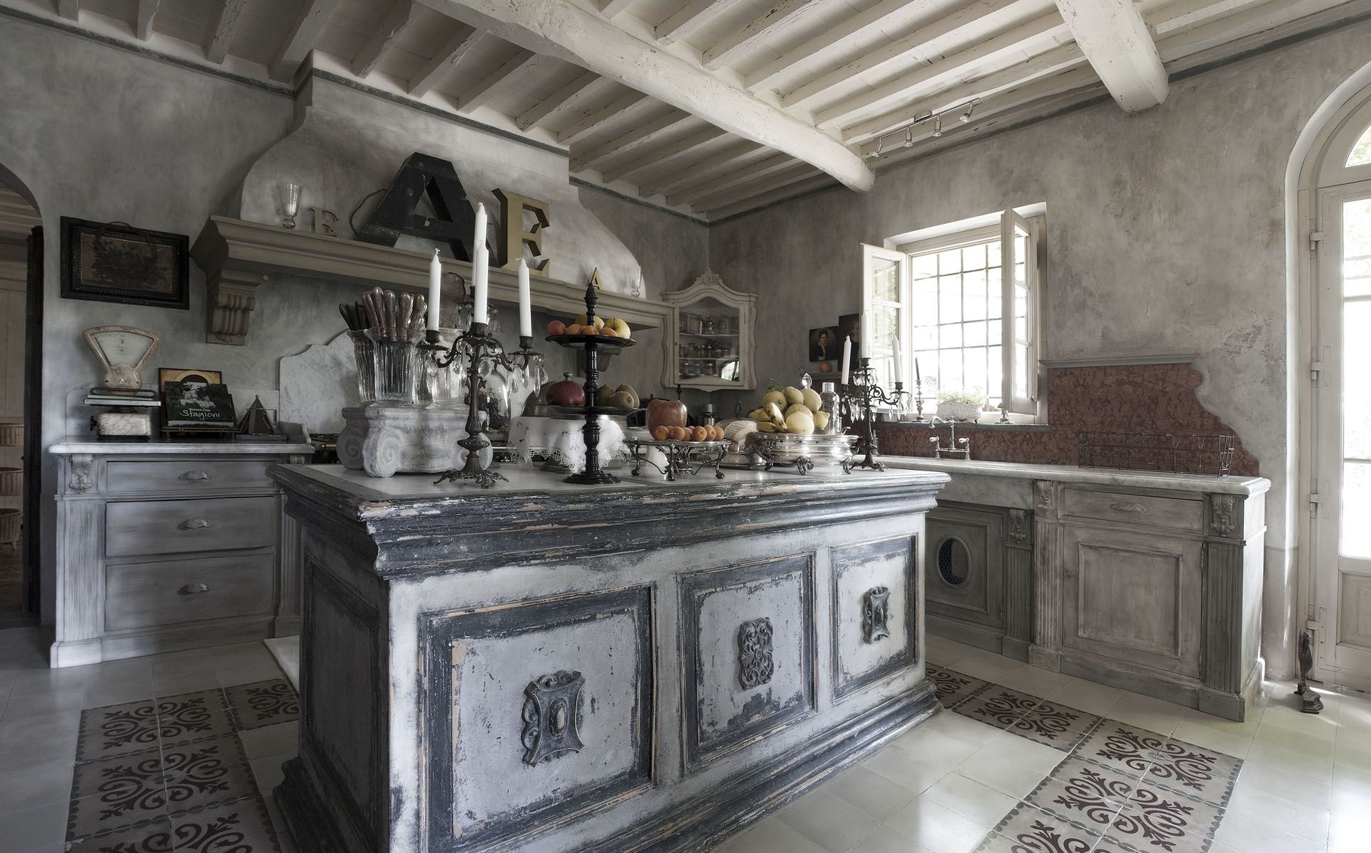 Cucina Stile Francese Photo Gallery Emanuela Marchesini Kitchens Cucina Shabby Chic