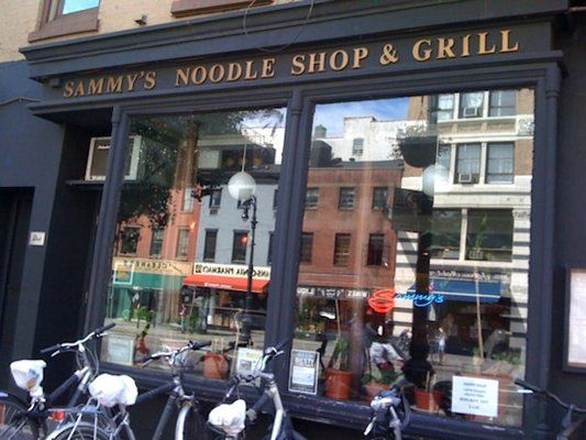 Sammy S Noodle Shop My All Time Favorite Chinese Food Restaurant New York Barbecue Restaurant Chinese Restaurant
