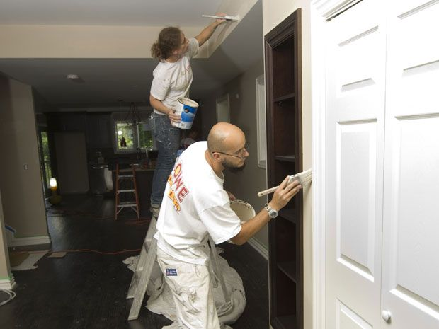 That 'new-home' smell may be harmful gases. Mike Holmes: Adhesives and caulking emit dangerous gases.