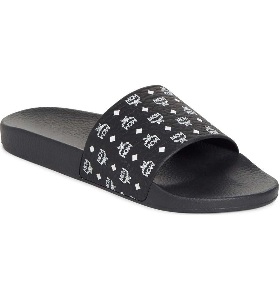 50e6e3c1880 MCM Visetos Slide Sandals 8-13 (MENS) Flip Flops designer 100% AUTHENTIC   fashion  clothing  shoes  accessories  mensshoes  sandals (ebay link)