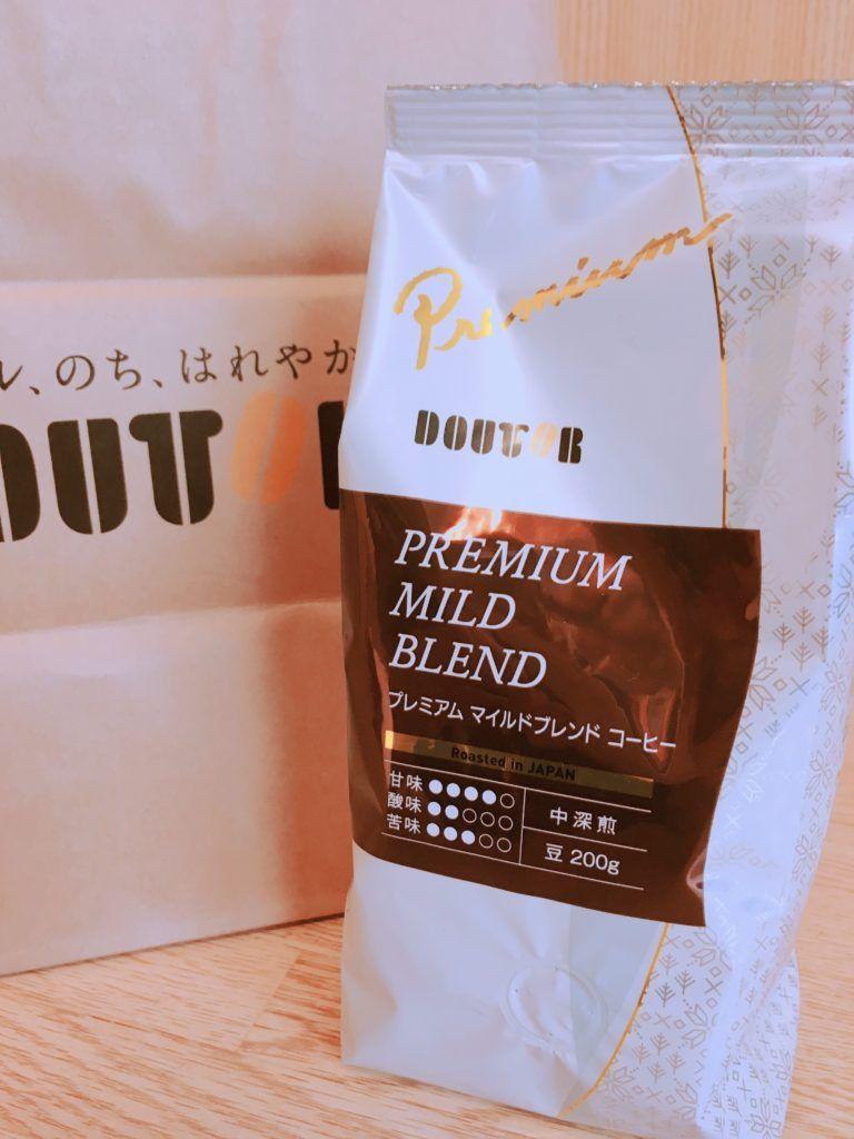 ドトールのコーヒー豆 プレミアムマイルドブレンド を本気レビュー 山口的おいしいコーヒーブログ コーヒー豆 コーヒー 豆