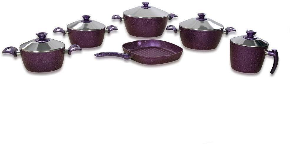 Evita Turkish Granite Stone Cookware Set 11 Pcs Cookware Set Granite Stone Granite