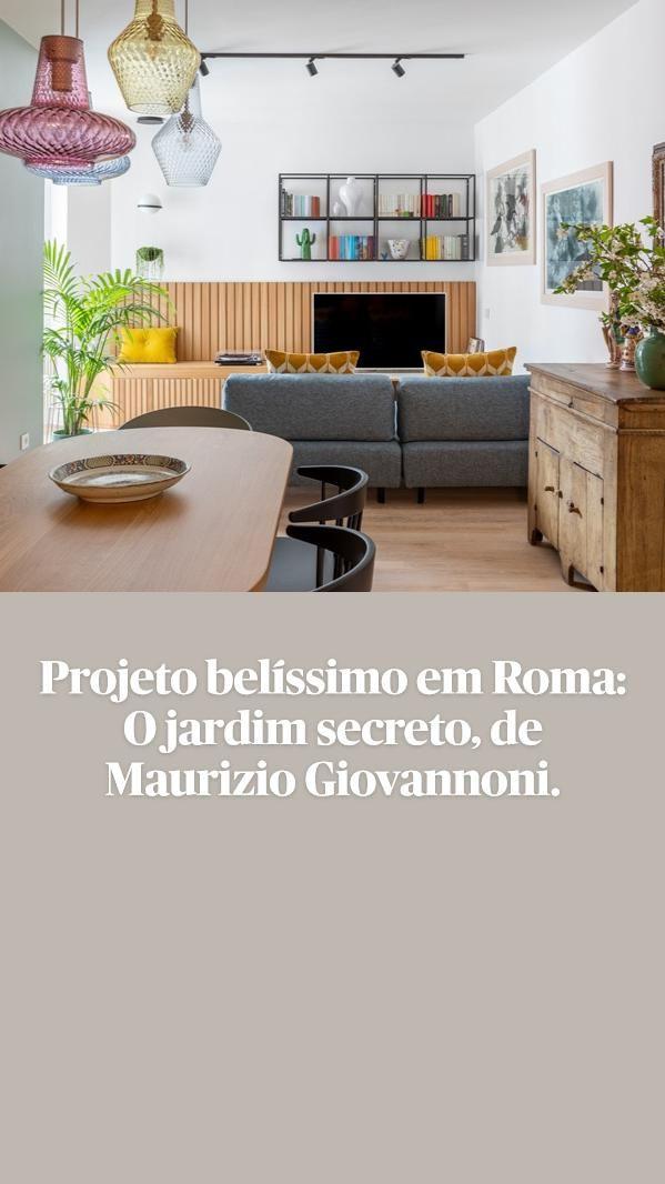 200+ Projeto belíssimo em Roma O jardim secreto, de Maurizio Giovannoni.